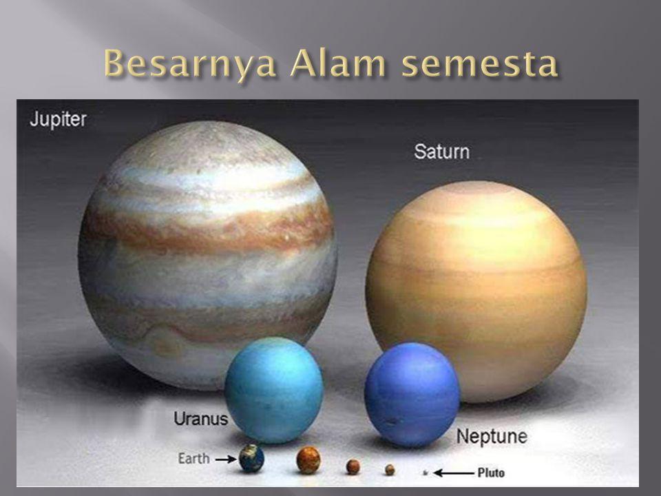 Besarnya Alam semesta