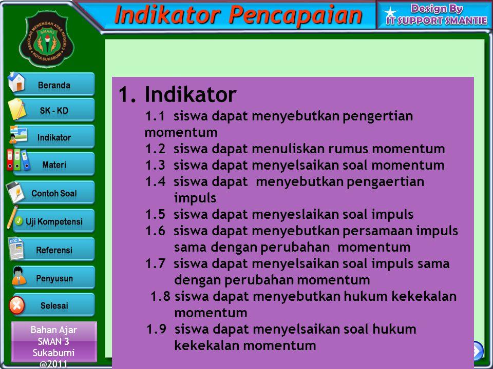 Indikator Pencapaian Indikator