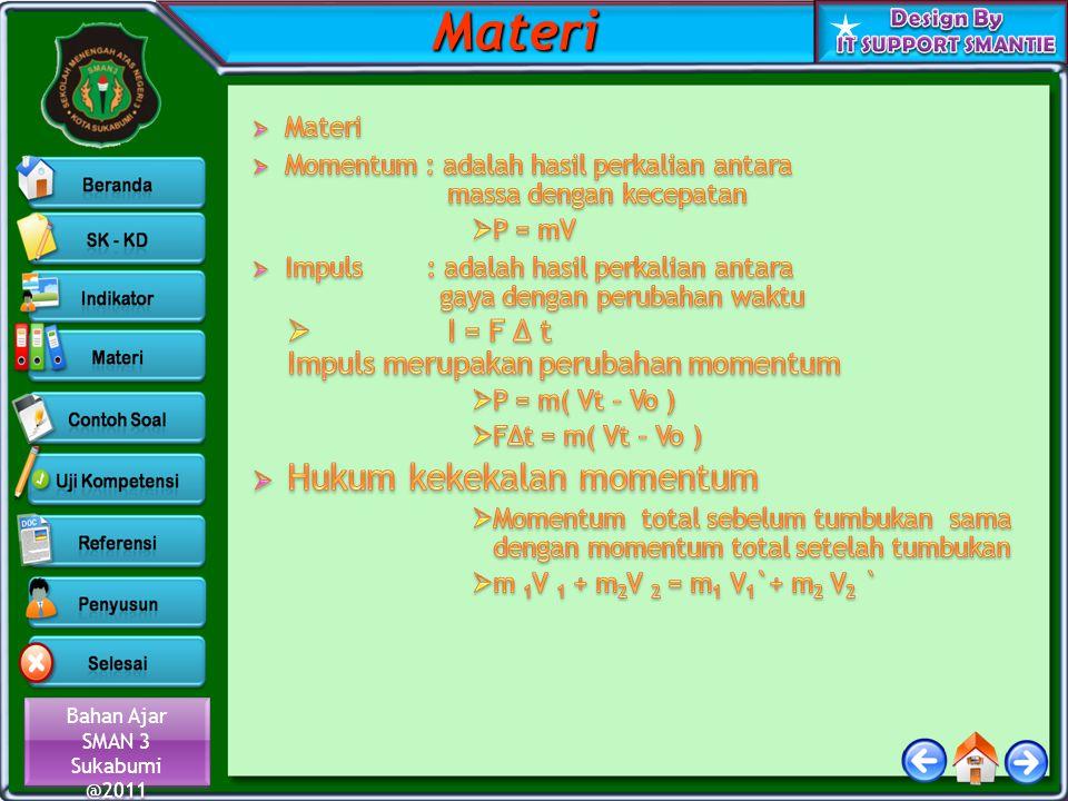 Materi Hukum kekekalan momentum