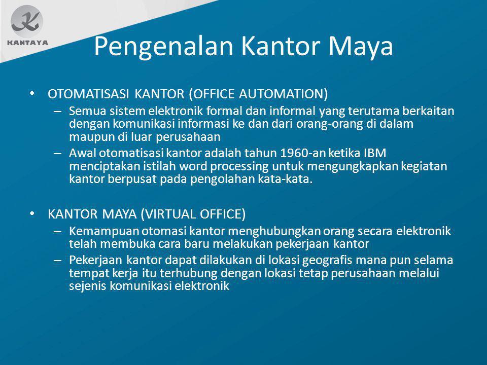 Pengenalan Kantor Maya