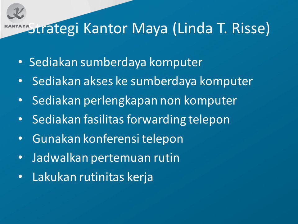 Strategi Kantor Maya (Linda T. Risse)