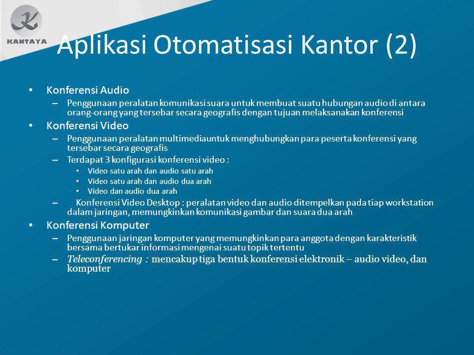 Aplikasi Otomatisasi Kantor (2)