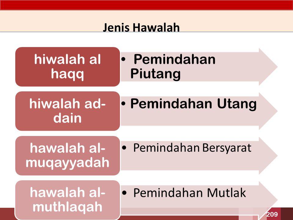 hawalah al-muqayyadah