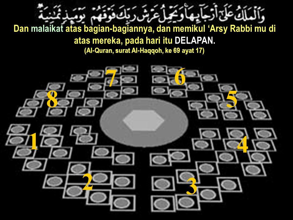 (Al-Quran, surat Al-Haqqoh, ke 69 ayat 17)