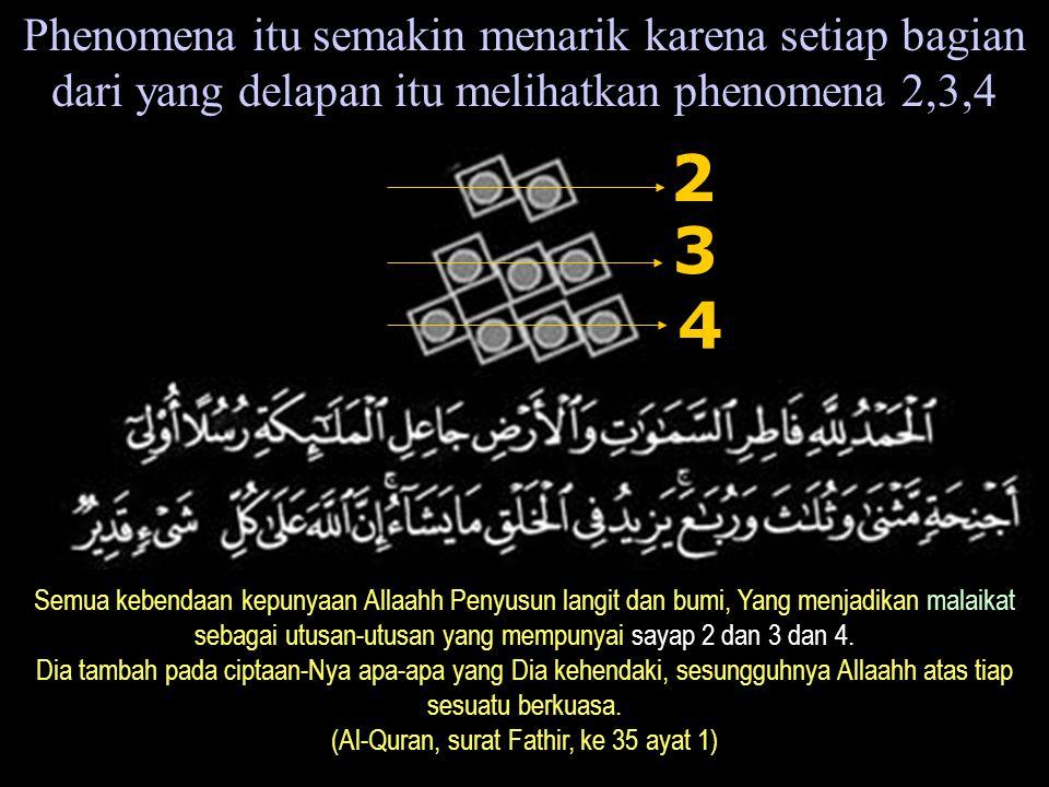 (Al-Quran, surat Fathir, ke 35 ayat 1)