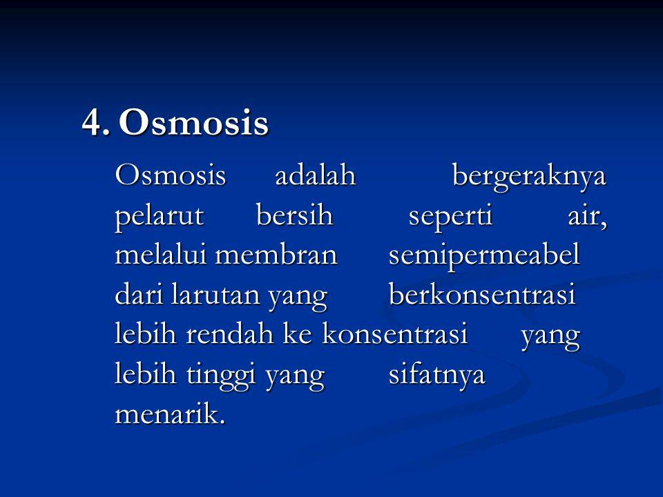 4. Osmosis