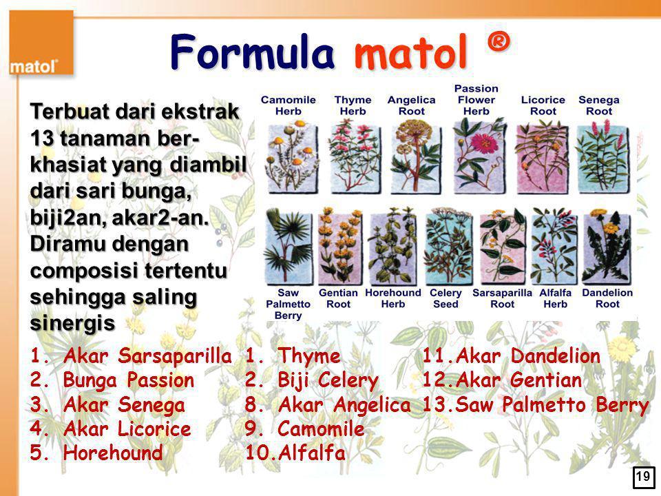 Formula matol ®