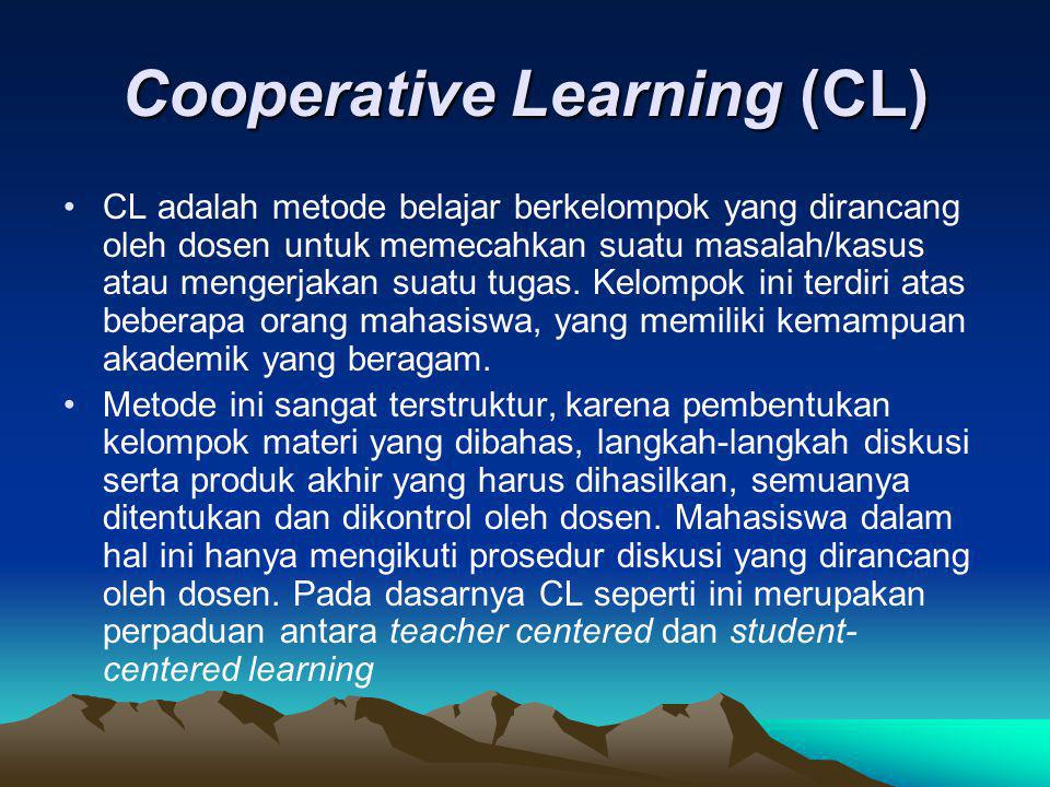 Cooperative Learning (CL)