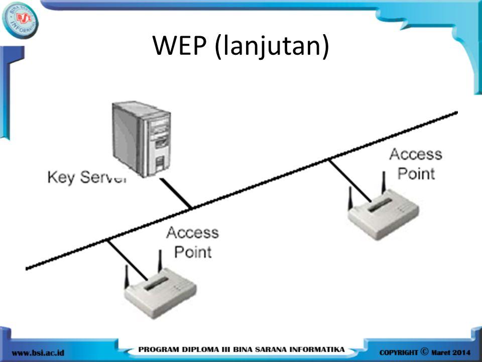WEP (lanjutan)