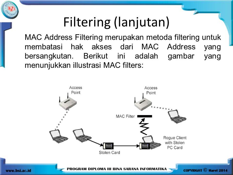 Filtering (lanjutan)