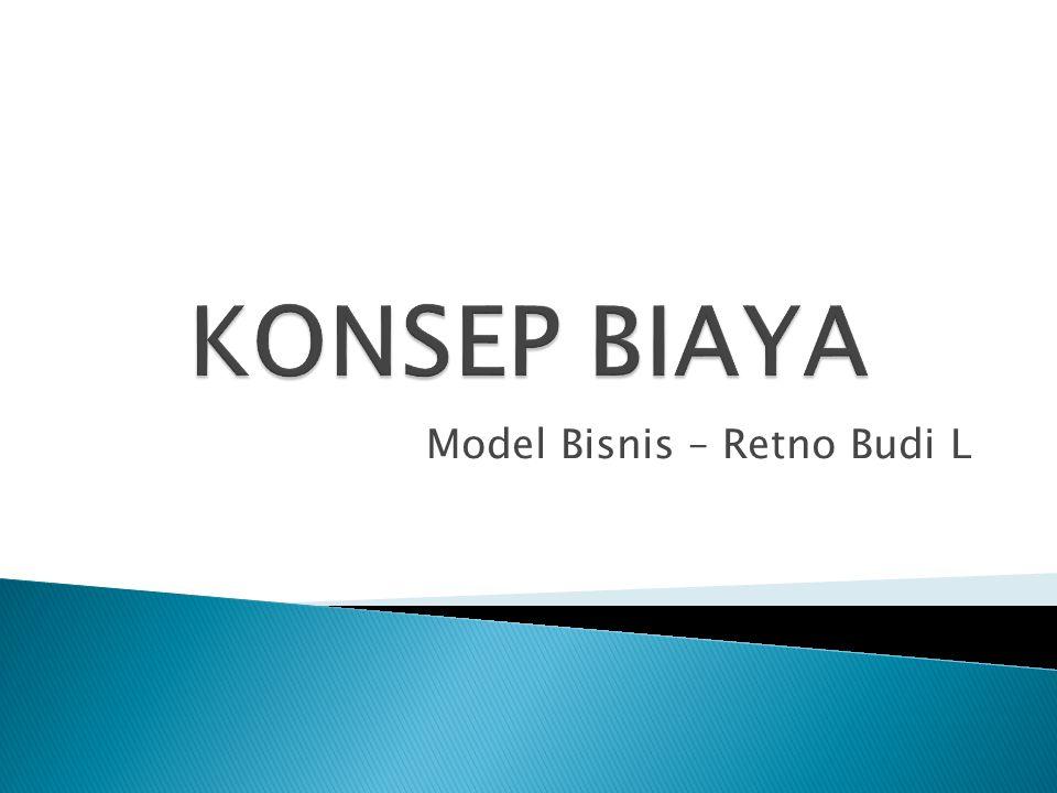 Model Bisnis – Retno Budi L