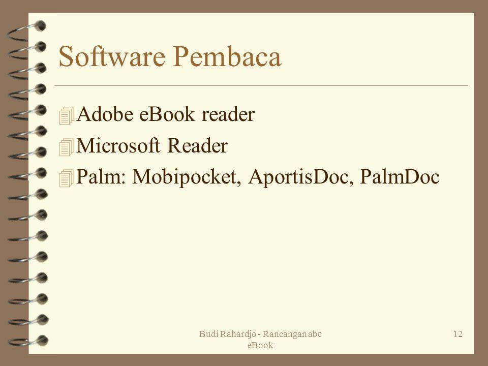 Budi Rahardjo - Rancangan abc eBook