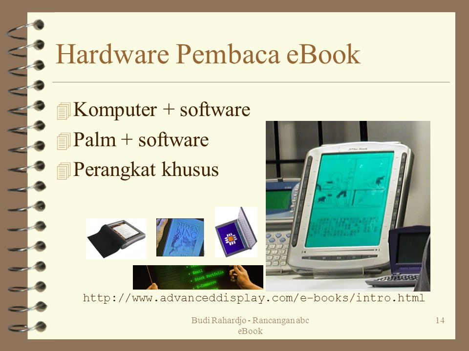 Hardware Pembaca eBook