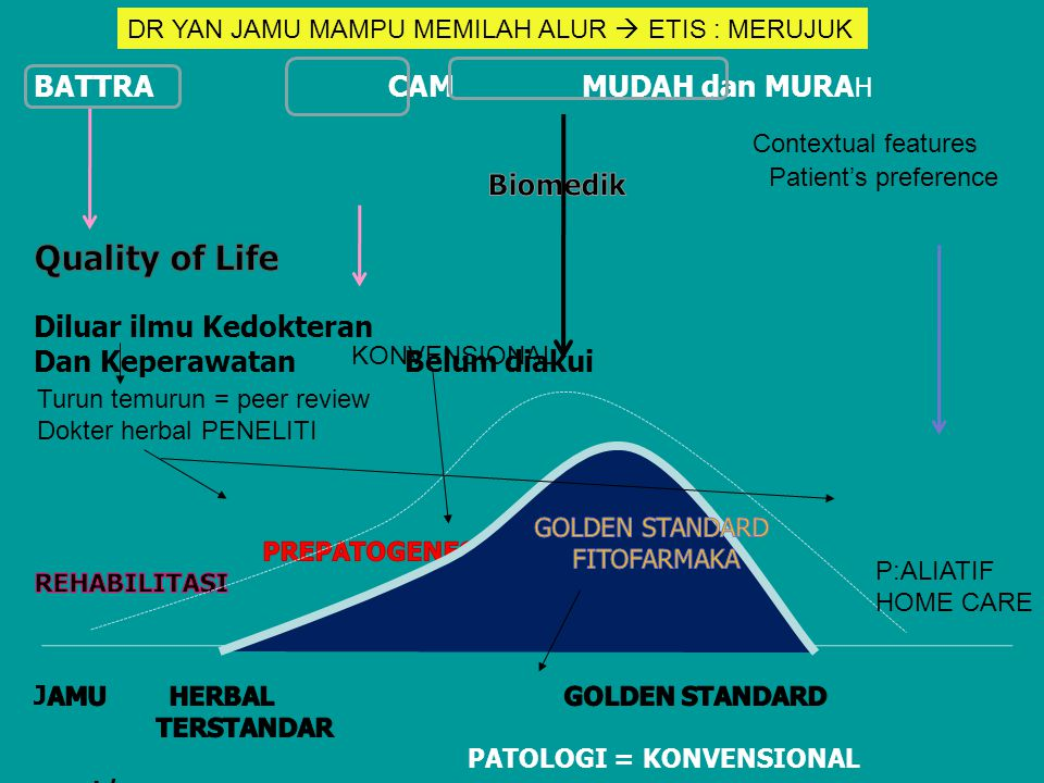 ALUR PENGOBATAN HERBAL