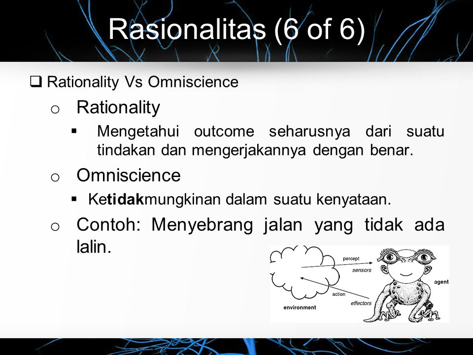 Rasionalitas (6 of 6) Rationality Omniscience