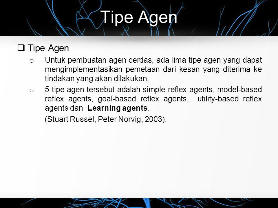 Tipe Agen Tipe Agen.