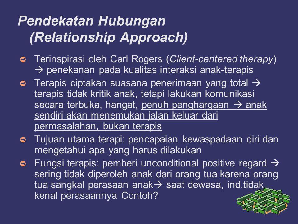 Pendekatan Hubungan (Relationship Approach)