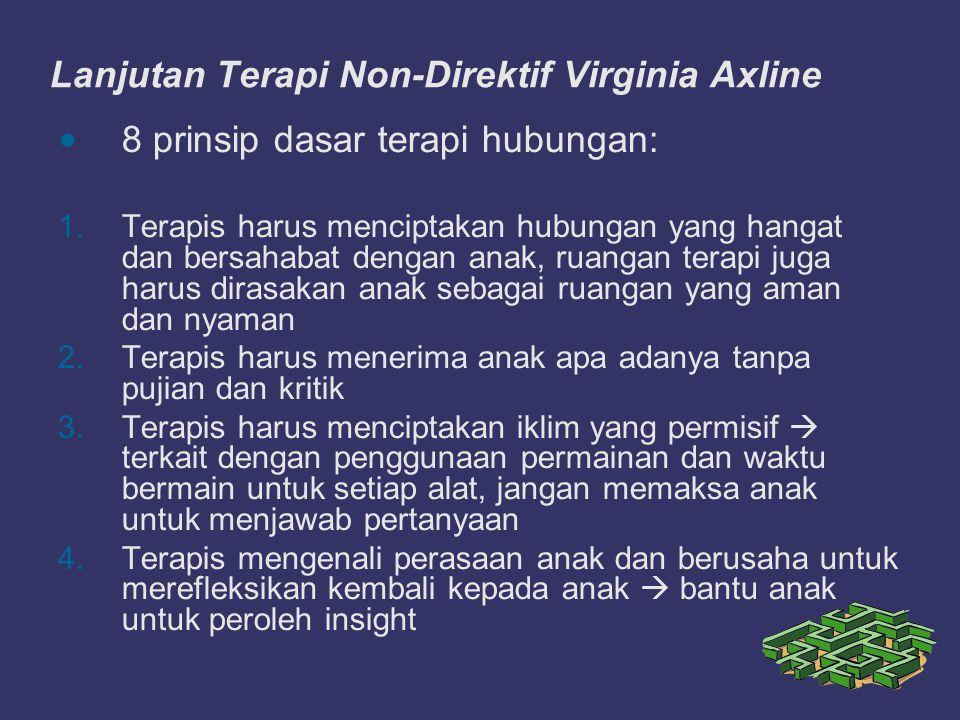 Lanjutan Terapi Non-Direktif Virginia Axline