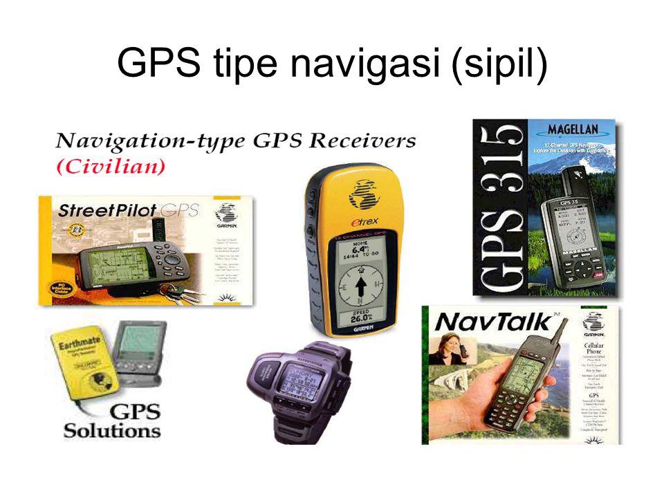 GPS tipe navigasi (sipil)