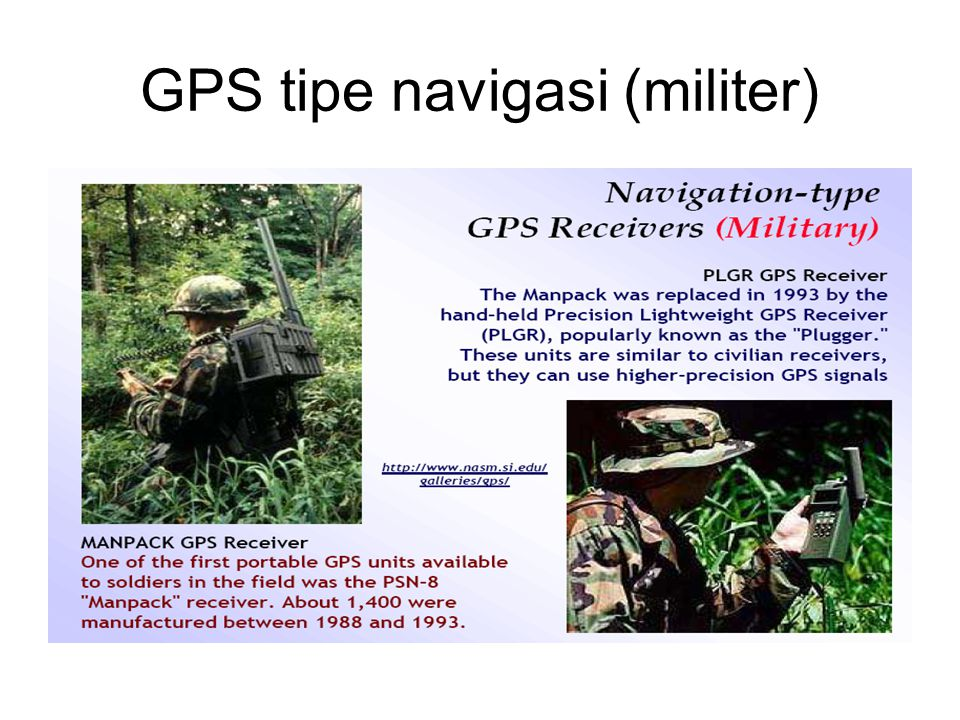 GPS tipe navigasi (militer)