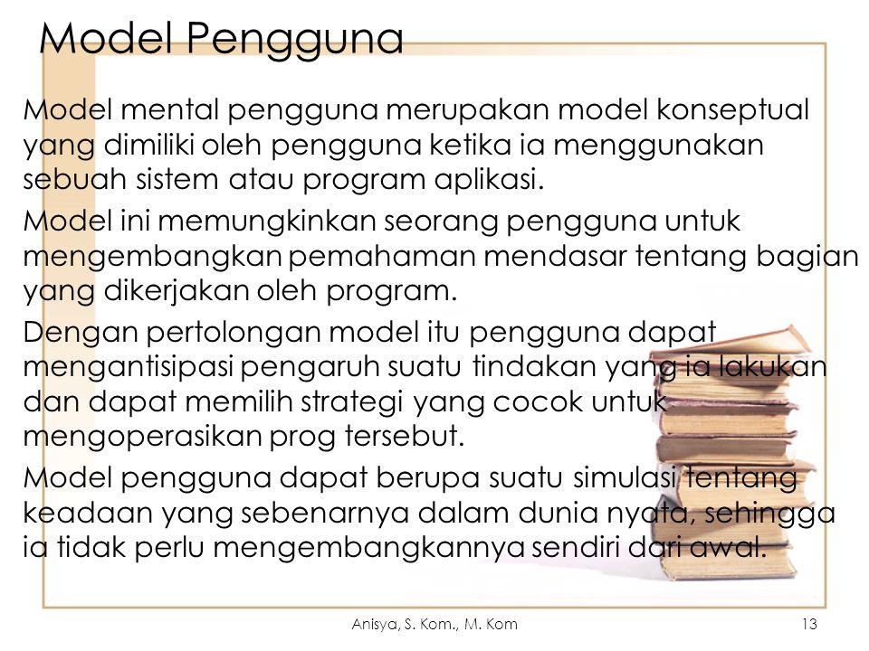 Model Pengguna