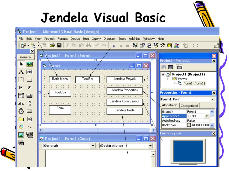 Jendela Visual Basic