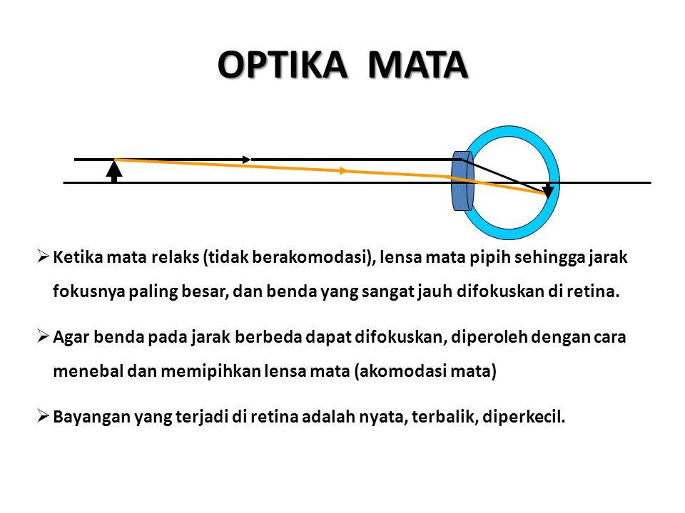 OPTIKA MATA