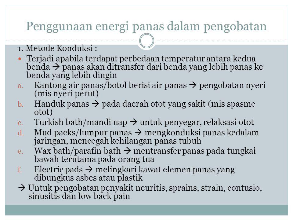 Penggunaan energi panas dalam pengobatan