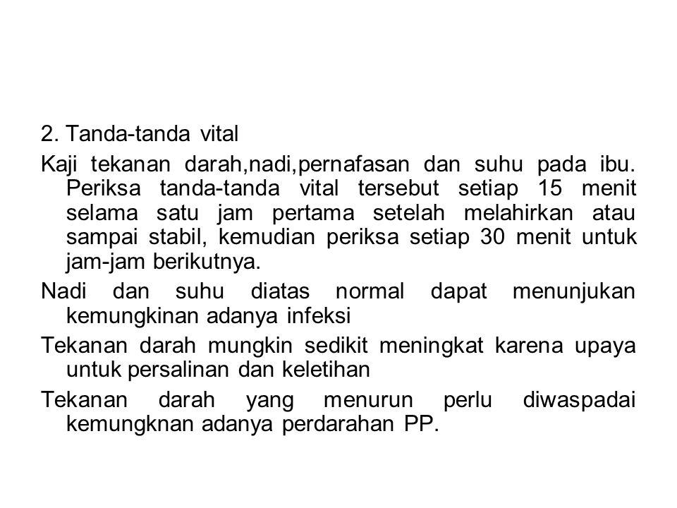 2. Tanda-tanda vital