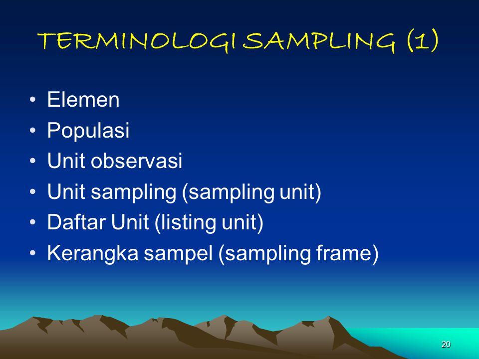 TERMINOLOGI SAMPLING (1)