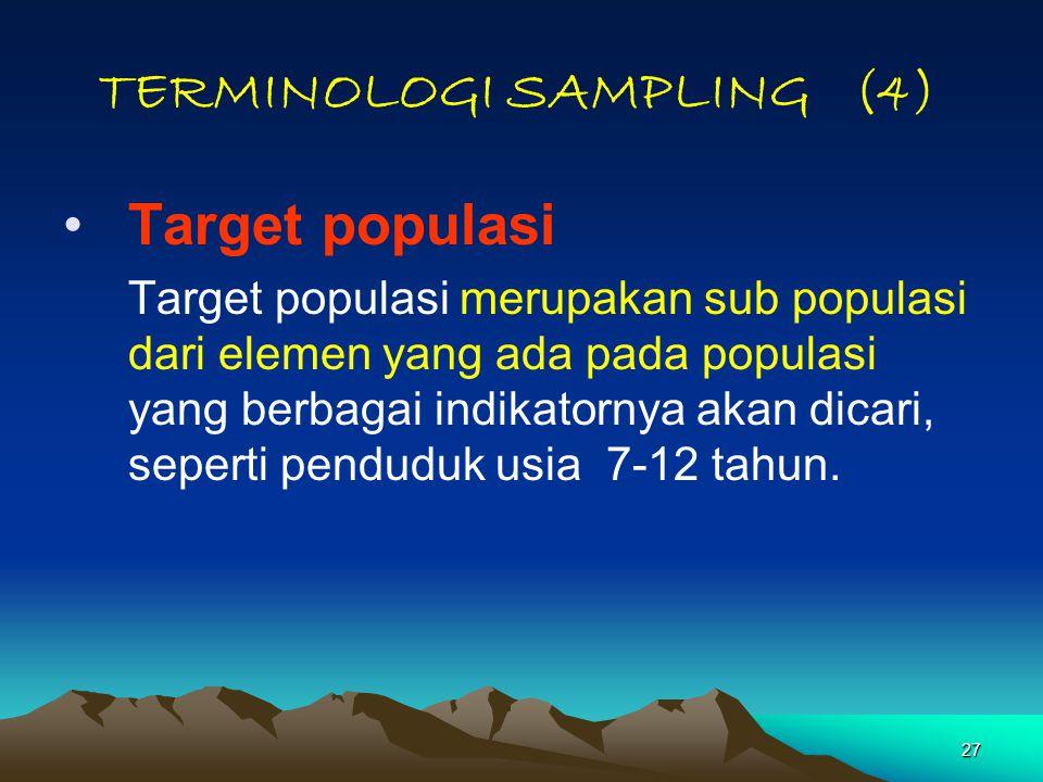 TERMINOLOGI SAMPLING (4)