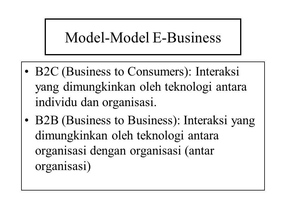 Model-Model E-Business