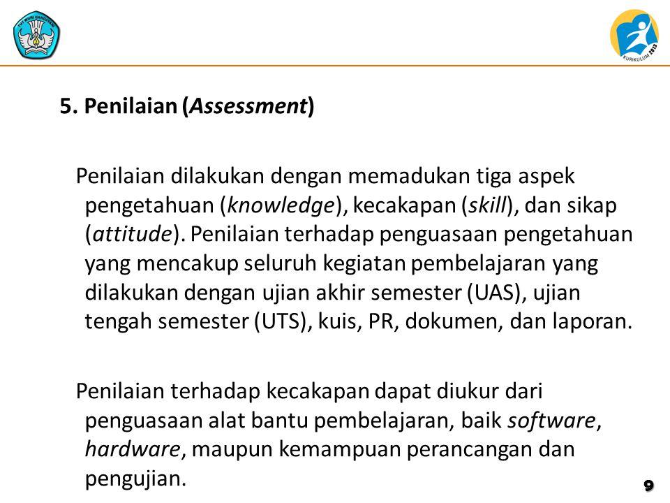 5. Penilaian (Assessment)