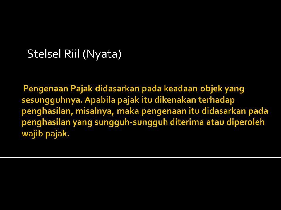Stelsel Riil (Nyata)