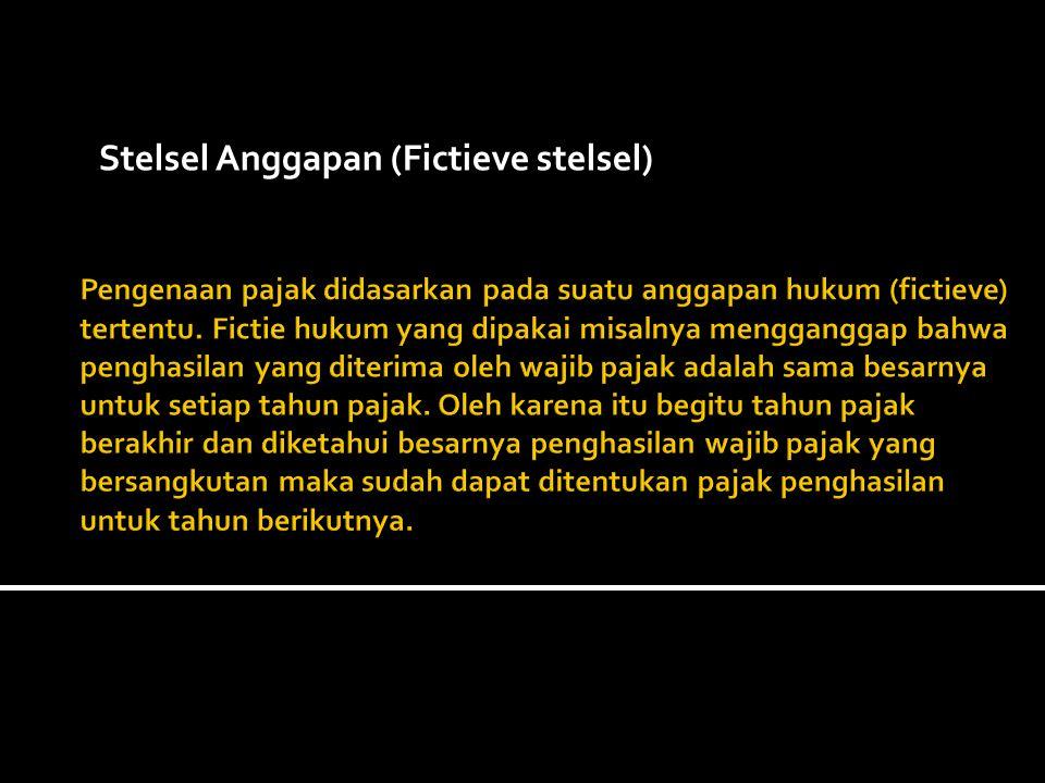 Stelsel Anggapan (Fictieve stelsel)