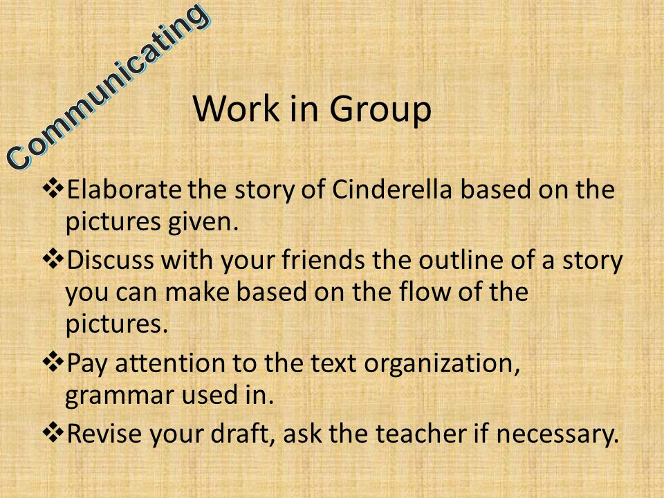 Work in Group Communicating