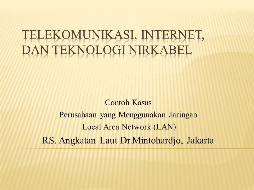 Telekomunikasi, Internet, dan Teknologi Nirkabel