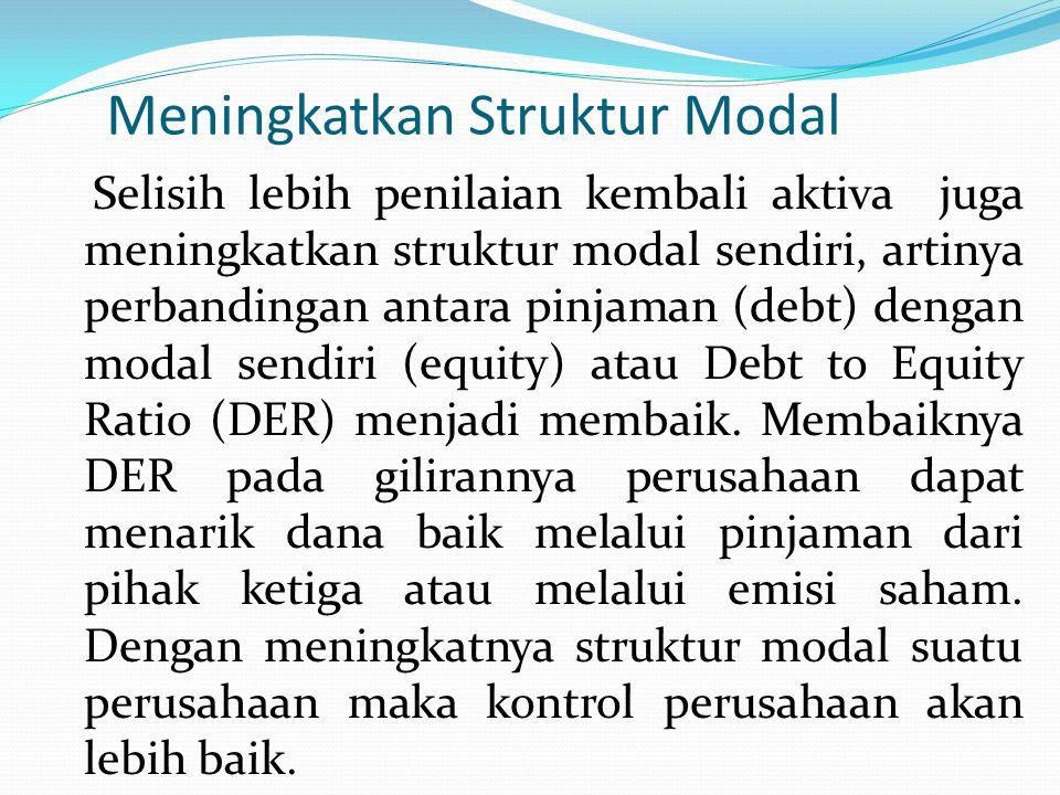 Meningkatkan Struktur Modal