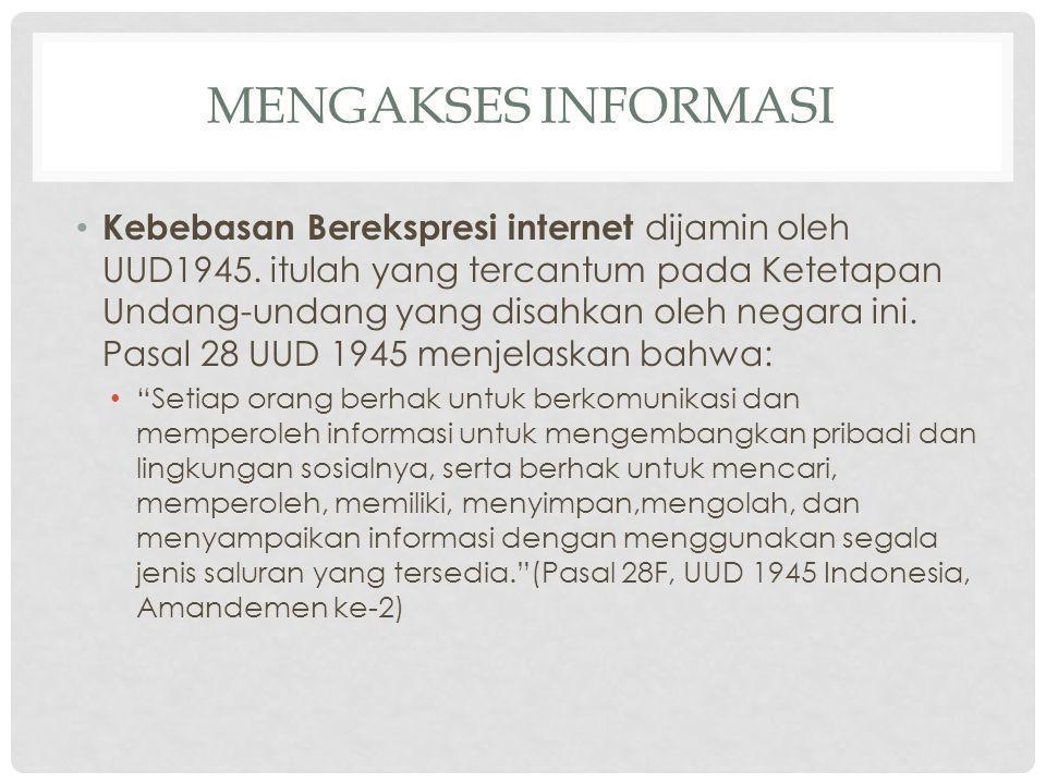 Mengakses Informasi