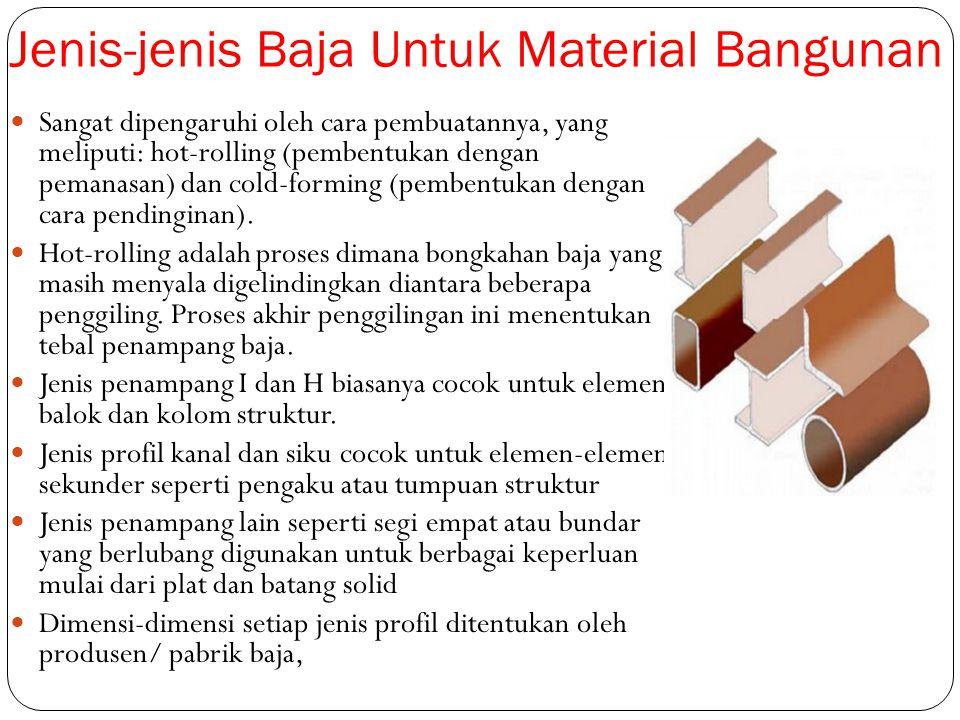 Jenis-jenis Baja Untuk Material Bangunan