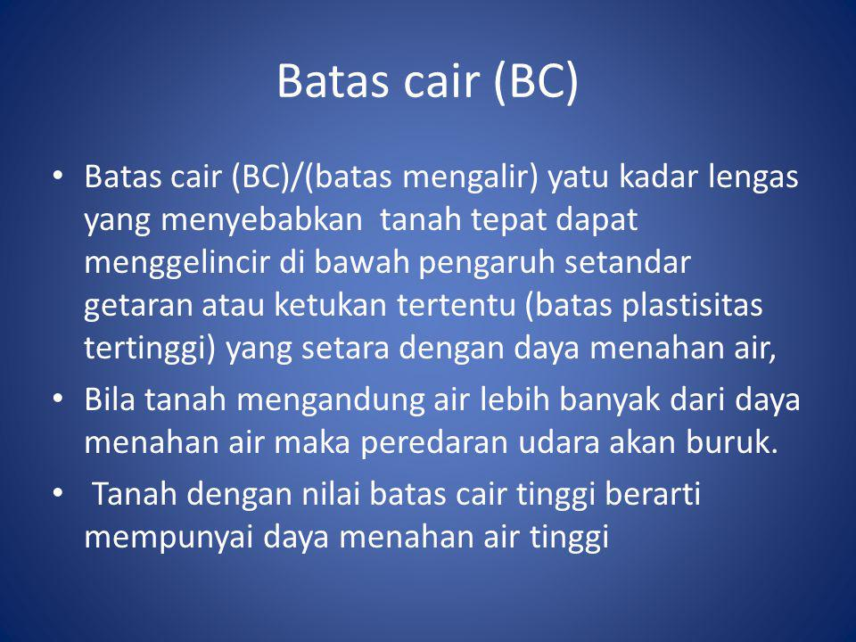 Batas cair (BC)