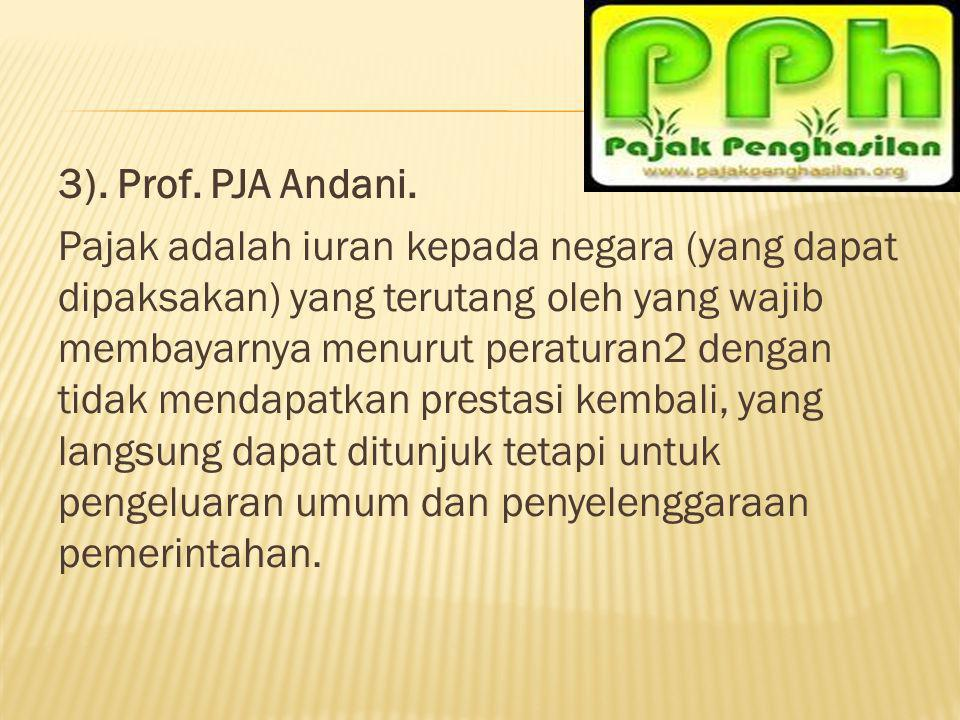 3). Prof. PJA Andani.
