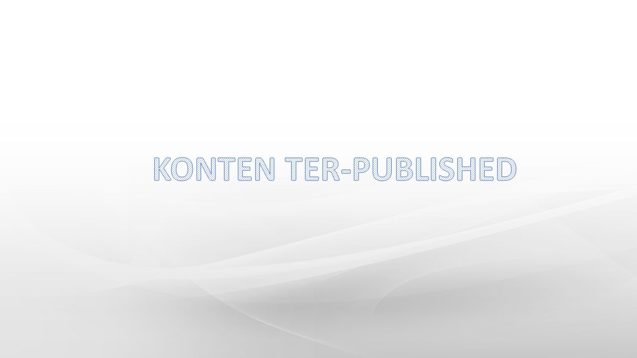 KONTEN TER-PUBLISHED