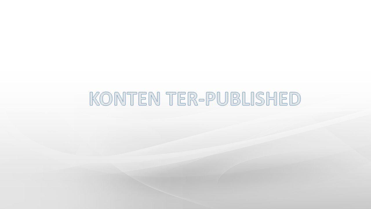 KONTEN TER-PUBLISHED