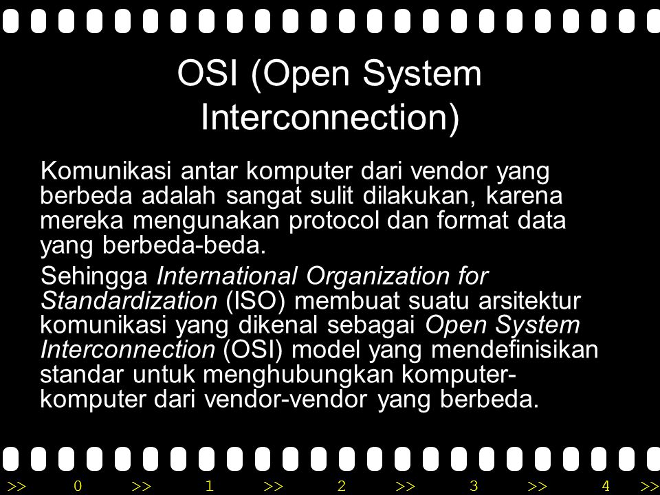 OSI (Open System Interconnection)