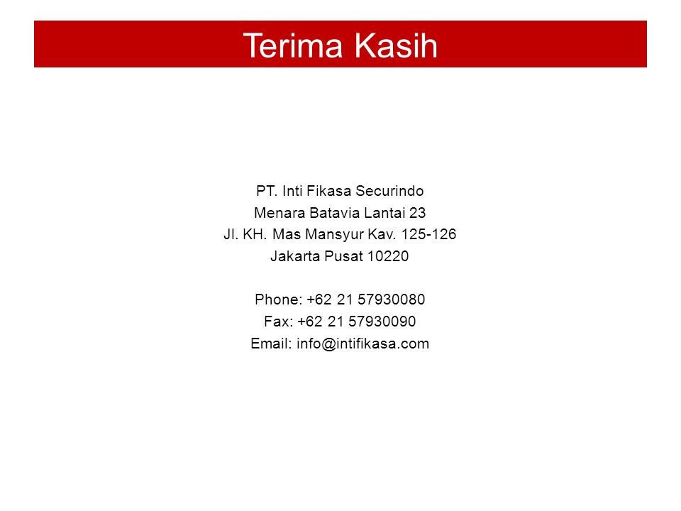 PT. Inti Fikasa Securindo