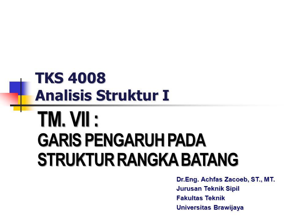 TKS 4008 Analisis Struktur I
