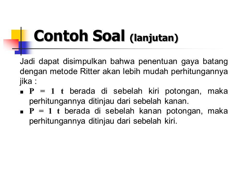 Contoh Soal (lanjutan)