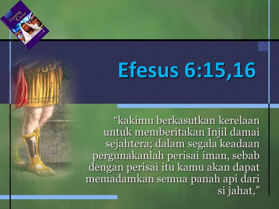 Efesus 6:15,16