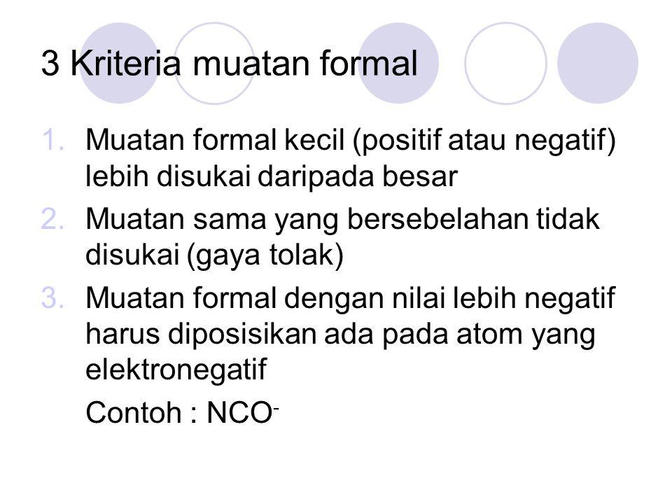 3 Kriteria muatan formal